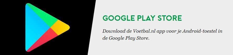 Voetbal.nl Google PlayStore