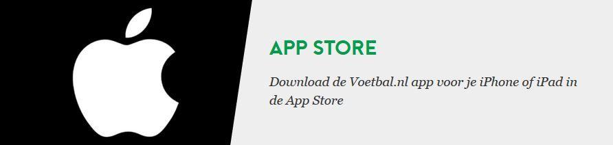 Voetbal.nl Apple Store