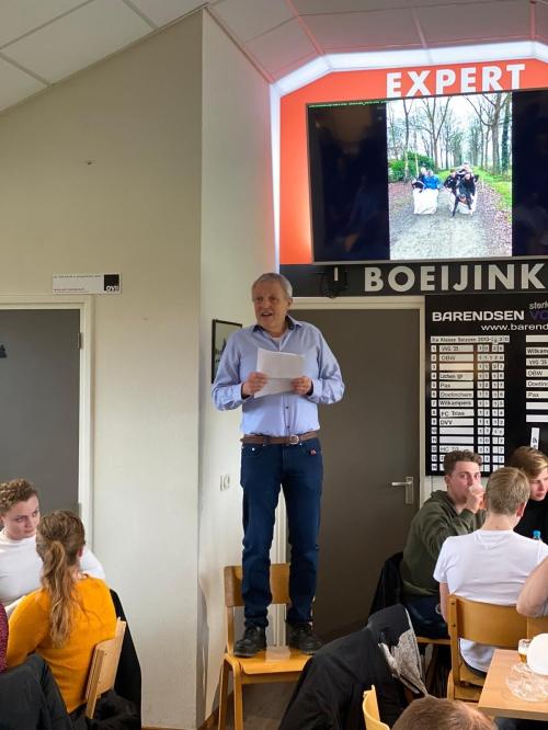 Speech voorzitter Johan Ikink