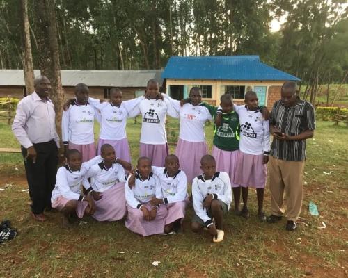 2e ronde oude shirts Kisii - Kenia