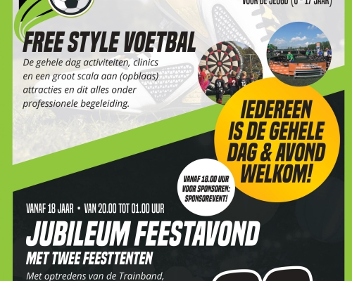 Witkampers Jubileumfeest Flyer